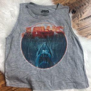 Vintage T Shirt JAWS VTG Graphic Tank Top